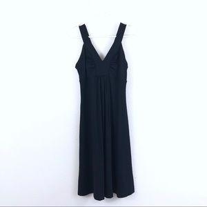 Patagonia V Neck Nylon Athletic Stretch Dress